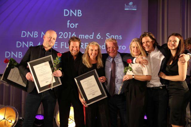 DNB stakk av med gullet i Beste eventinnovatør. Fotograf: Camilla Bergan.