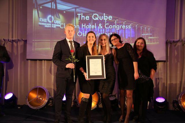 The Qube stakk av med prisen som Beste storarena. Fotograf: Camilla Bergen.
