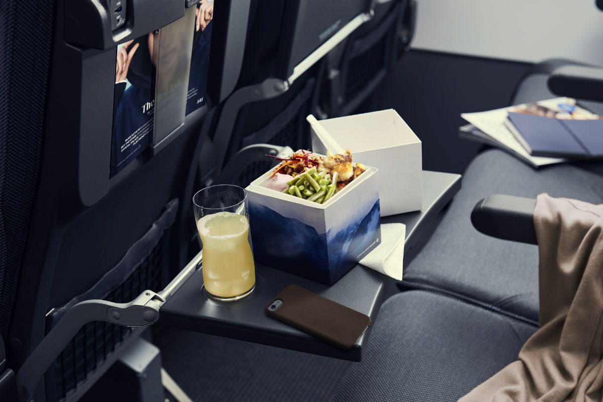 SAS utvider menyen på SAS Go, med fokus på passasjerenes livsstil og kostbehov