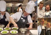 Kokk- og servitørlærlinger i hardtrening foran Norgescup