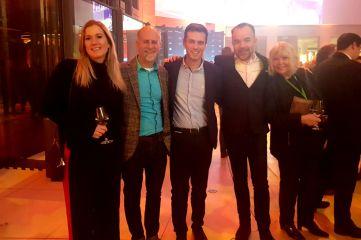 Fra Radisson Hotel Groups event i Berlin onsdag 7. mars 2018.
