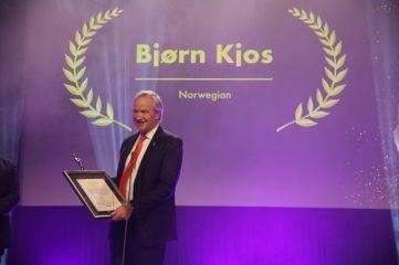 Bjørn Kjos, konsernsjef i Norwegian. Fotograf: Camilla Bergan.