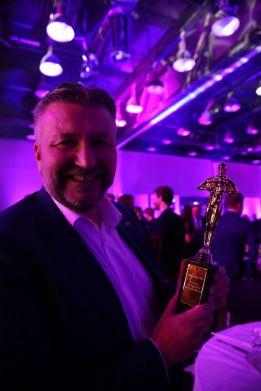 Administrerende direktør Svein Arild Steen-Mevold i Scandic Hotels Norge under HSMAI Awards 2018. Fotograf: Camilla Bergan.