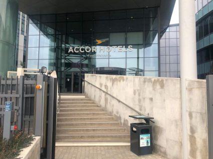 AccorHotels-hovedkvarteret i Paris 5. februar 2019.