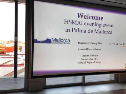 På Barceló Illetas Albatros i Palma de Mallorca 21. februar 2019.