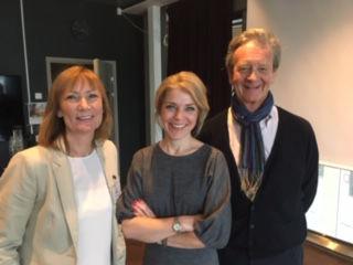 HSMAIs Monika Hove, Scandics Eva Lundstrøm og Geelmuyden Kieses Hans Geelmuyden.