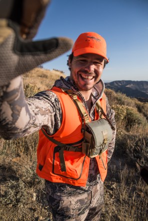 hunting, elk, elk hunting, colorado, sitka gear, success, high five