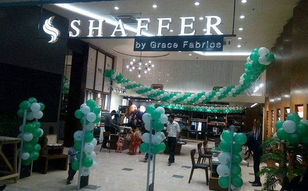 Shaffer By Grace Fabrics Launched In Karachi