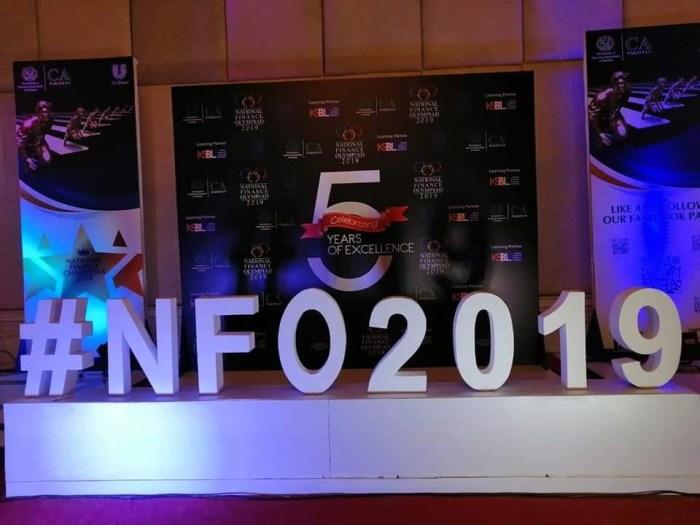 National Finance Olympiad 2019