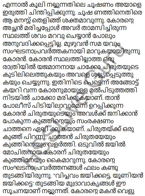 Adisthana Padavali Malayalam Standard 10 Solutions Unit 1 Chapter 1 Plavilakkanni 31