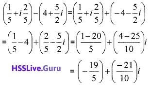 Plus One Maths Complex Numbers and Quadratic Equations Four Mark Questions and Answers 16