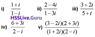 Plus One Maths Complex Numbers and Quadratic Equations Four Mark Questions and Answers 23