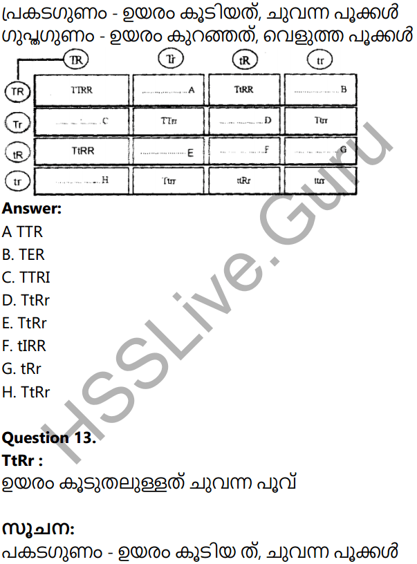 Kerala Syllabus 10th Standard Biology Solutions Chapter 6 Unravelling Genetic Mysteries in Malayalam 64