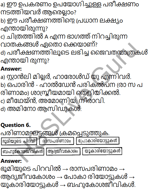 Kerala Syllabus 10th Standard Biology Solutions Chapter 8 The Paths Traversed by Life in Malayalam 33
