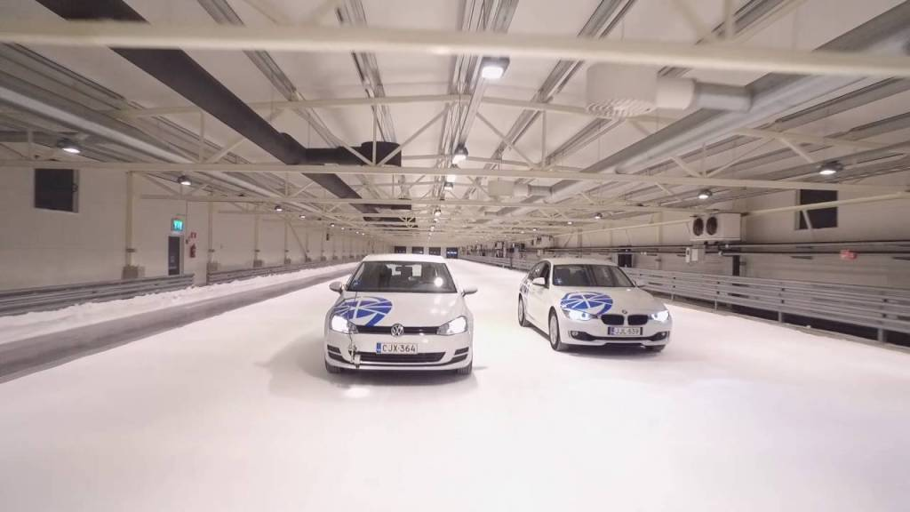 Test World es la pista bajo techo de pruebas de nieve más grande del mundo