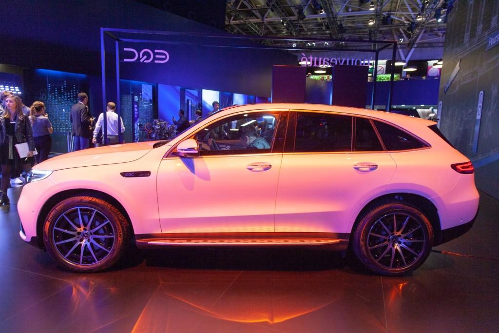 El nuevo Mercedes Benz EQC 2020 desde el CES 2019
