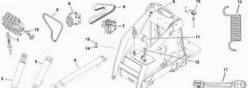 Toro Dingo Hydraulic System Parts