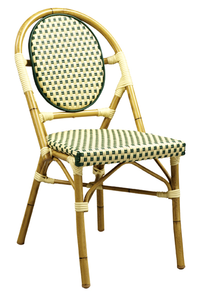 cafe rattan french bistro chairs sheer elegance chair covers chairs, parisian