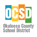 Okaloosa County School District logo