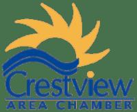 Crestview Chamber of Commerce logo