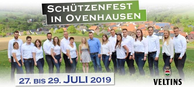 Schützenfest vom 27. bis 29. Juli 2019