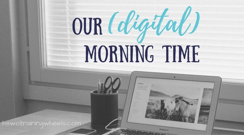 In order to facilitate homeschooling as whole-group activity, we began to use more digital material. Check out some of our top favorite resources!
