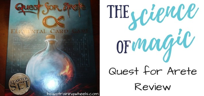 Check out this review of The Quest for Arete: An Elemental Card Game. Before modern chemistry, the mixing of elements was considered a magic art!