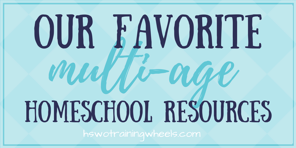 "Homeschooling multiple ages at once can be a real challenge. A homeschool mom of eight shares her favorite curriculum and resources for ""family schooling""."