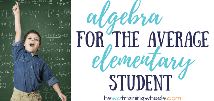 Do you need a hands-on way to introduce algebra in your homeschool? Want to engage younger learners with algebraic thinking? Check out Hands-On Equations!