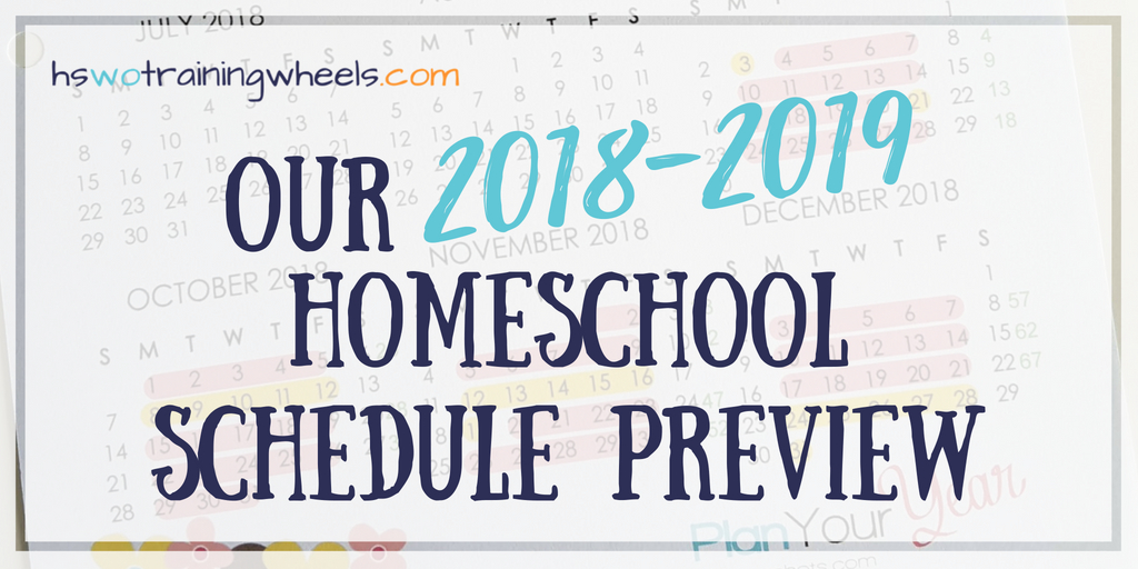Want a sneak peak at how this large family schedules a homeschool day? Come see what school work and chores look like for us this year!