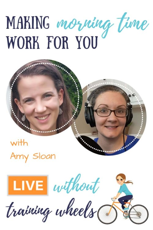 Want to know how to DIY your morning time to make it the perfect fit for your ages and stages? Come join me as we get some great tips and encouragement from Amy Sloan of Humility and Doxology!