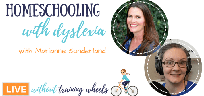 Are you homeschooling a child with learning or reading struggles? Do you suspect dyslexia? Learn how to help from veteran homeschool mom Marianne Sunderland.