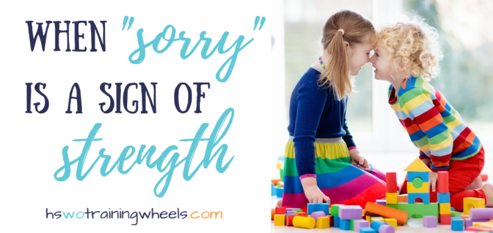 """We've been told that saying """"sorry"""" when we haven't done anything wrong robs us of self-confidence. Learn how """"sorry"""" can be a word of strength."""