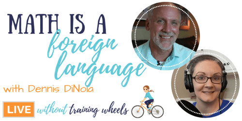 "Math is hard. Or is it just a foreign language? Are some people ""math people"" or is it just a matter of learning the language? Let's chat with Mr. D!"