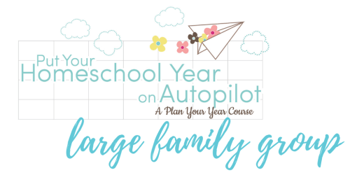 Homeschool planning can be overwhelming. Large family homeschool planning takes that overwhelm to the next level. Join us and let's support eachother!