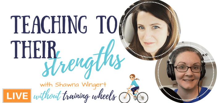 Shawna Wingert of Different by Design Learning joins us to talk about teaching to our children's strengths in the homeschool.