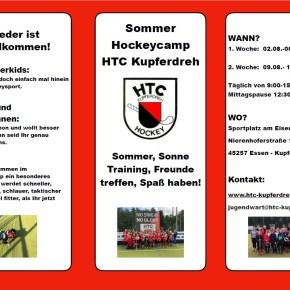 Hockey Sommercamp 2021 - Bitte vormerken