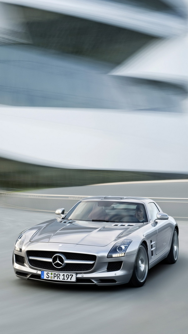 1242x2208 Mercedes Sls Amg Coupe Black Series Iphone 6 Plus Hd