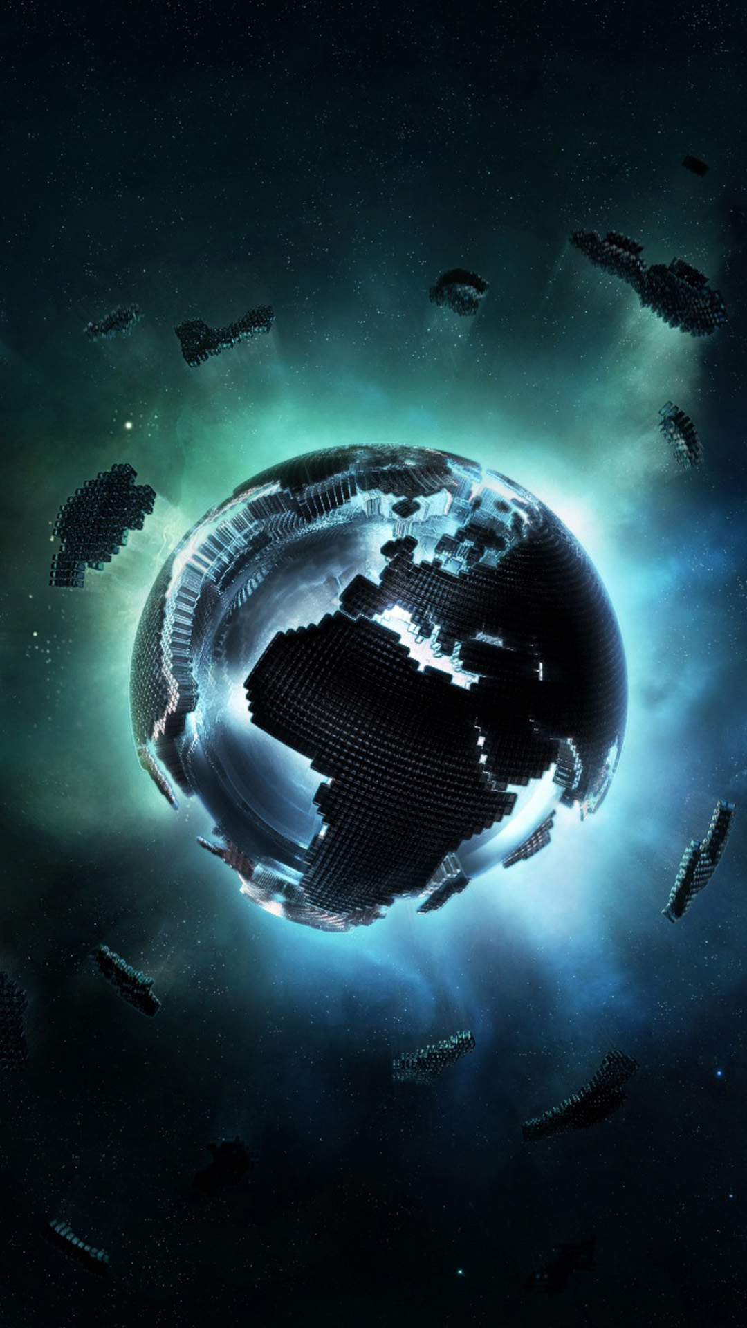 3d Wallpaper For Htc One M8 3d Pixel Earth Best Htc One Wallpapers Free And Easy To