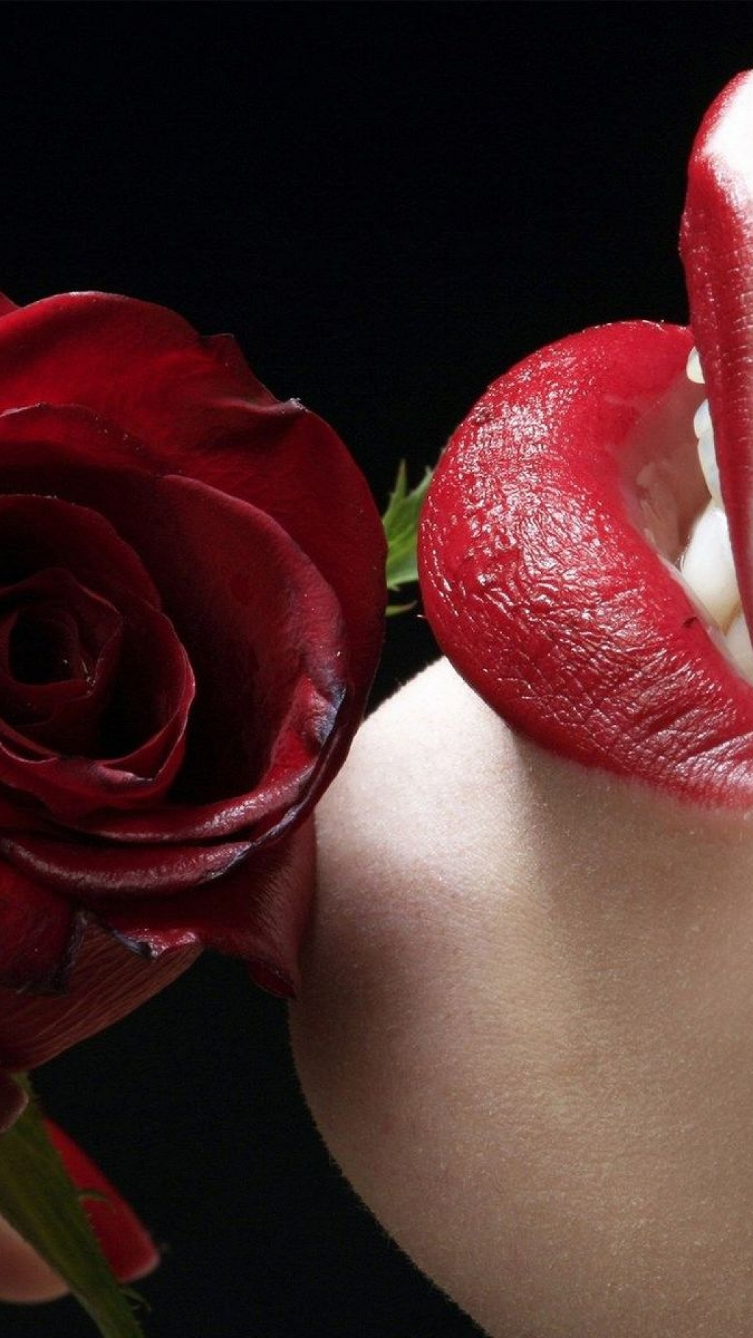Htc M8 3d Wallpaper Red Lips Rose Best Htc One Wallpapers Free And Easy To