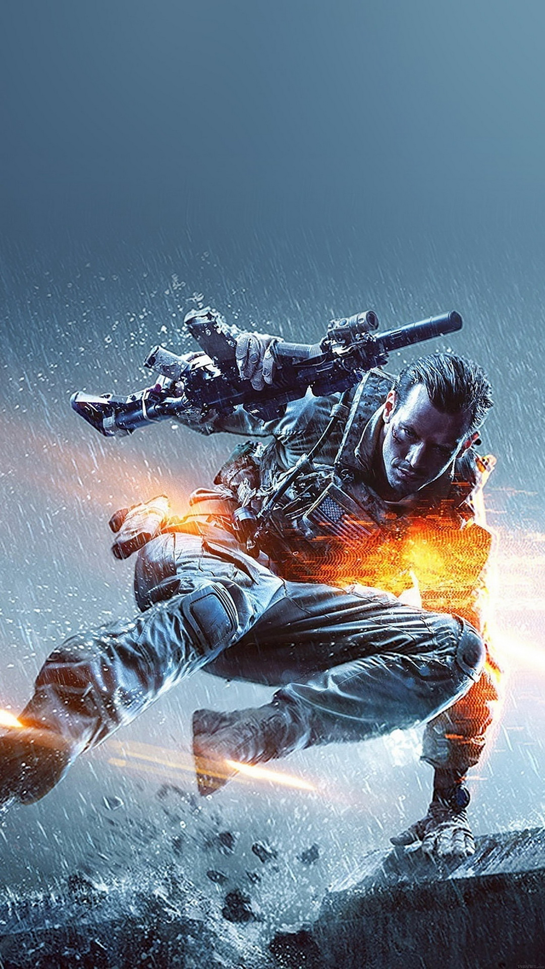 Ios 11 Hd Wallpaper Battlefield 4 Jump Best Htc M9 Wallpapers