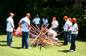 outdoor training team building