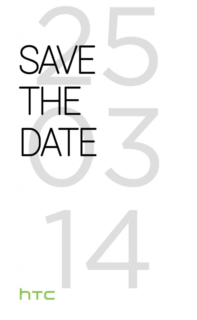 Official: HTC M8 launch event scheduled for March 25 in