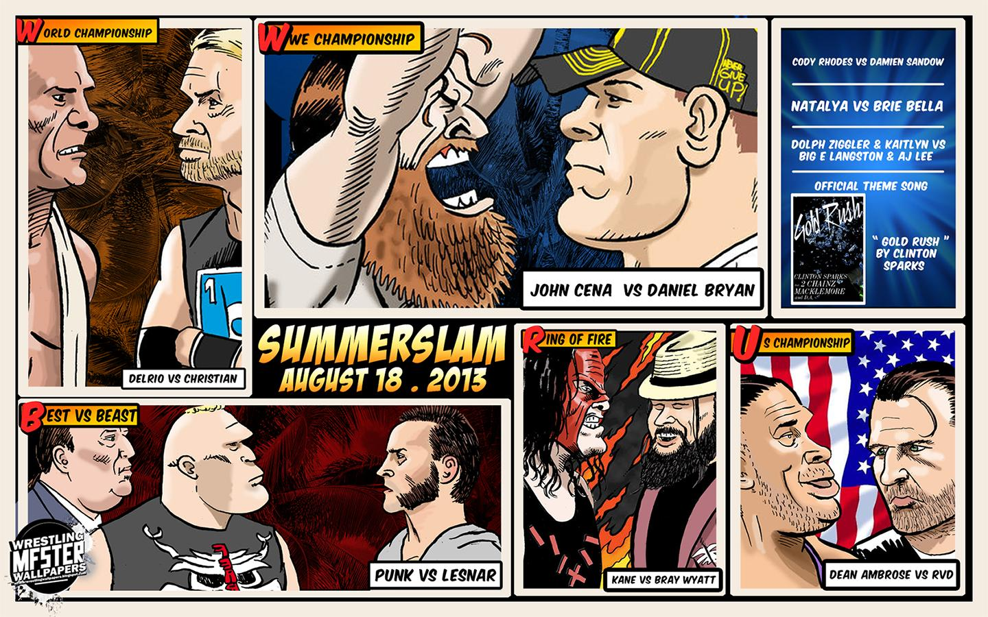 10 thoughts wwe summerslam
