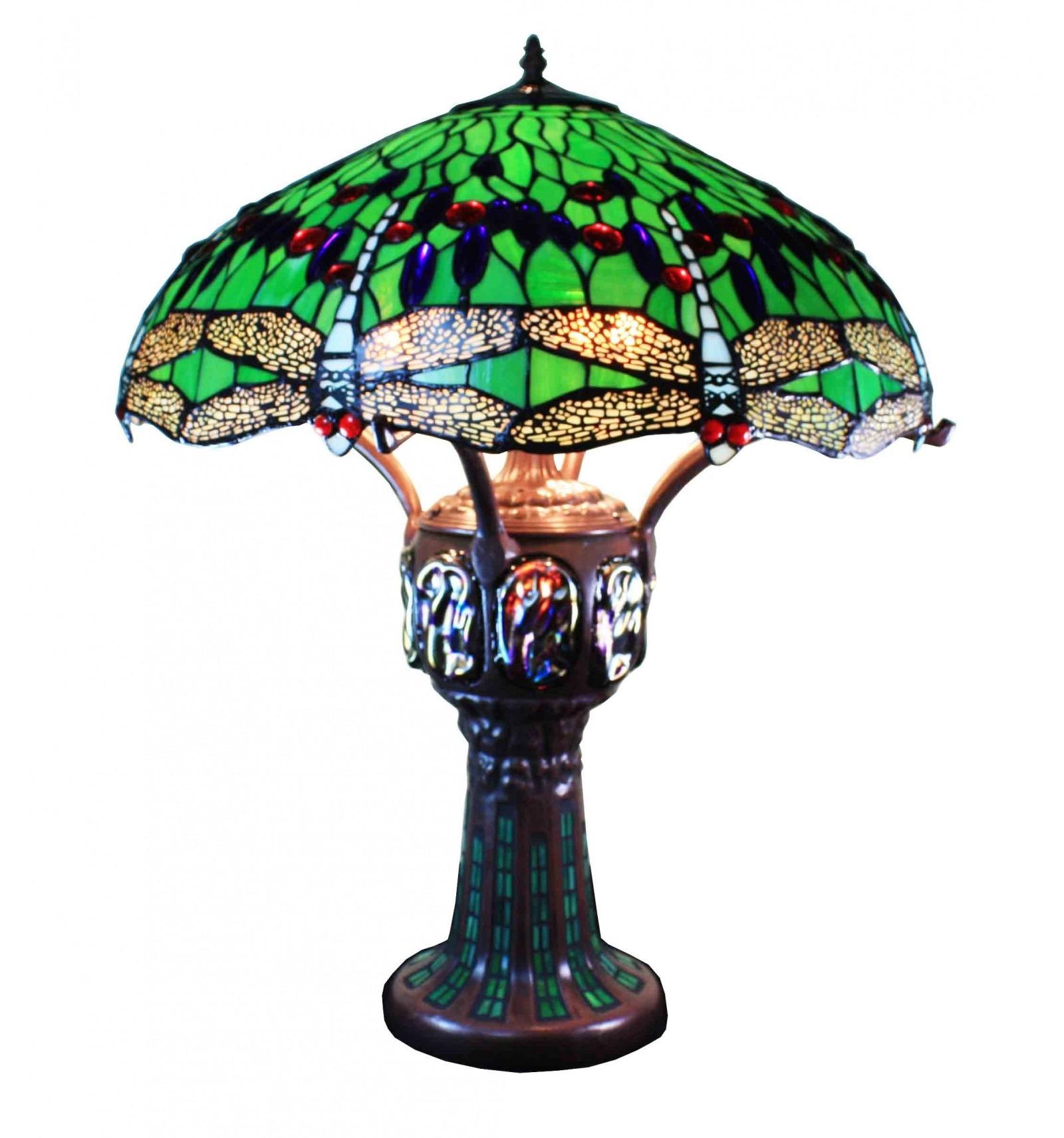 Lámpara Tiffany - H: 75 cm.