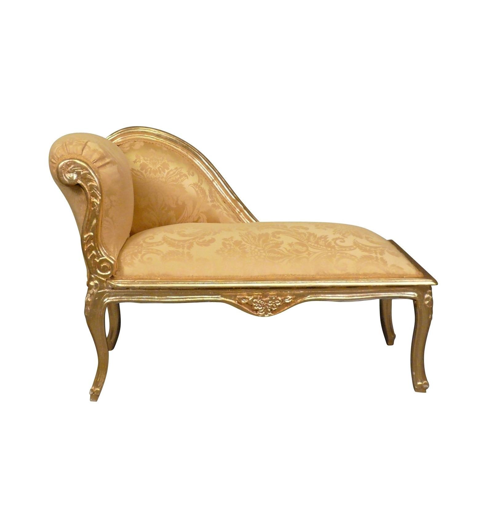 Chaise longue barocco  Poltrona Louis XV