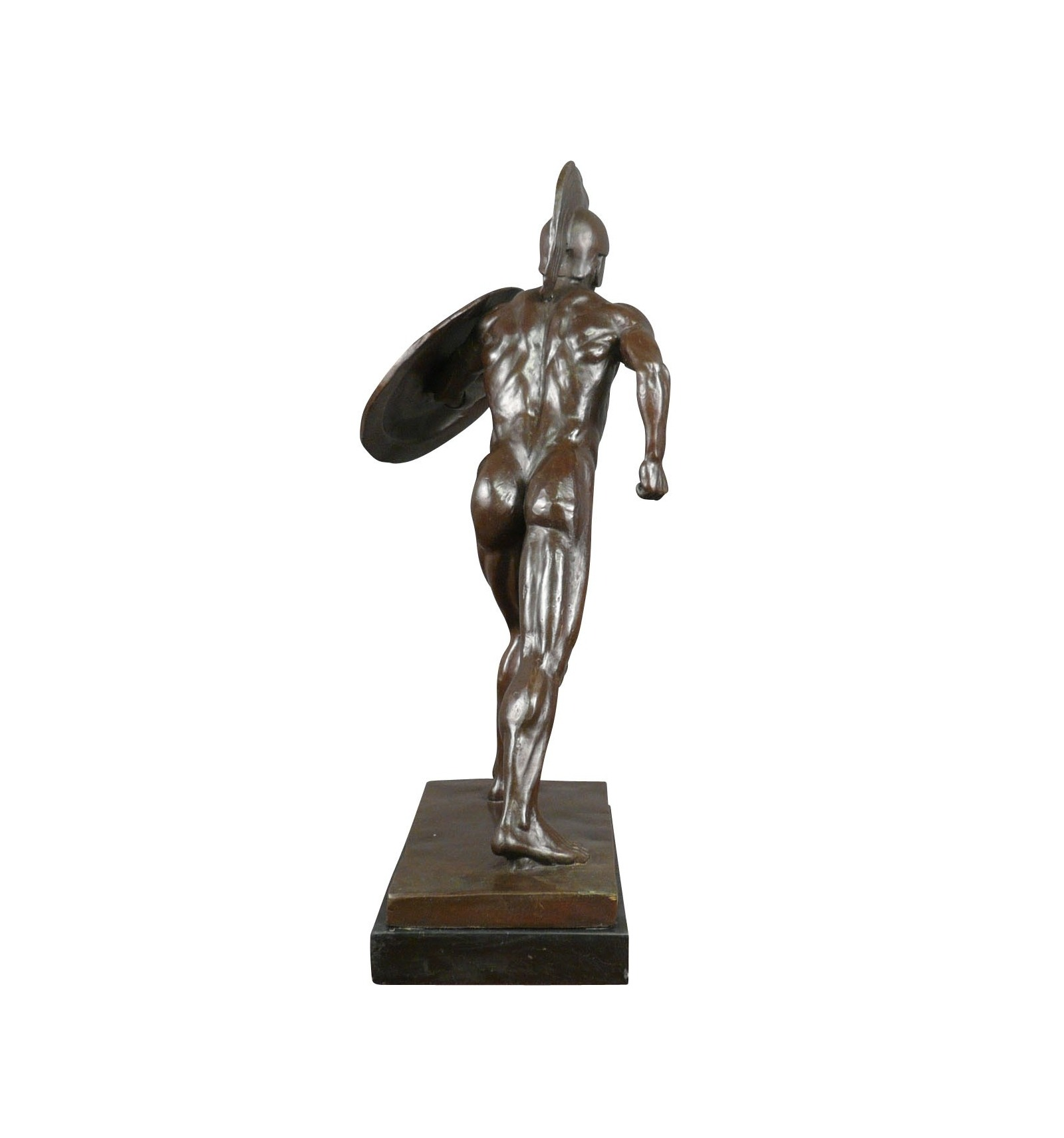 The Roman Gladiator  bronze  sculpture Statue