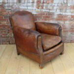 The Cigar Chair History Of Leather Club Chairs And Bycast