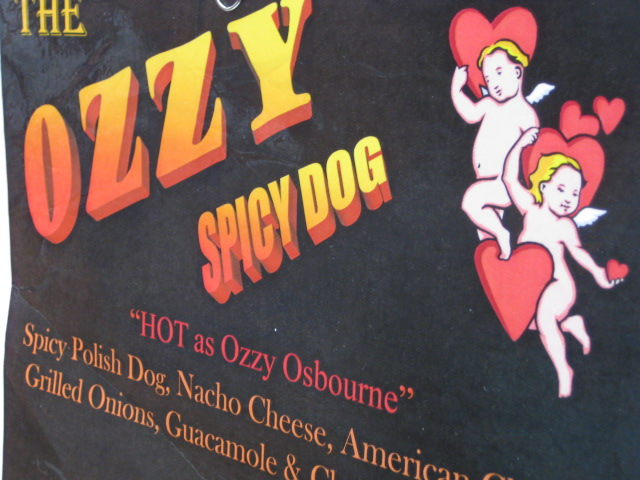 The Ozzy Spicy Dog!