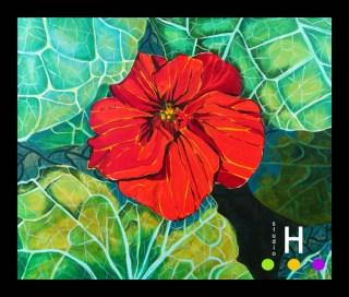 Nasturtium 2010 30x36 blog